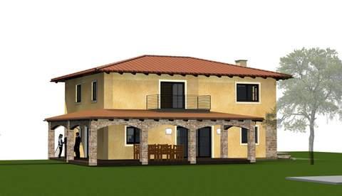 Fassadengestaltung beispiele mediterran  Bestandsbau